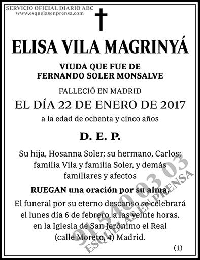 Elisa Vila Magrinyá
